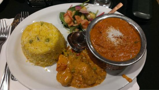 India Village Restaurant: My delicious gluten free meal.