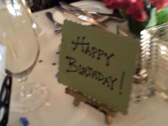 Olivadi Restaurant & Bar: For my birthday girl oxox