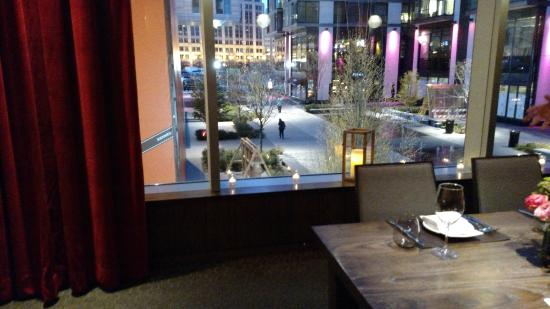View from the private dining room - Picture of DBGB Kitchen and ...