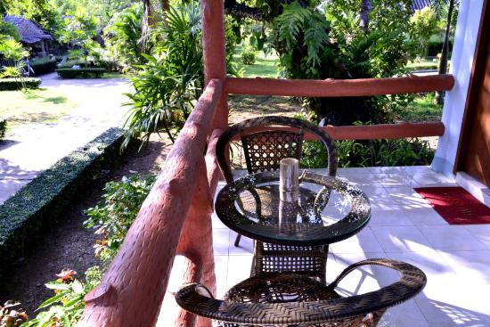 Koh Yao Chukit Dachanan Resort: Balcony