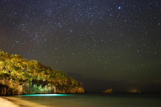 Infinity Bay Spa And Beach Resort Night Divers Under The Stars At South End
