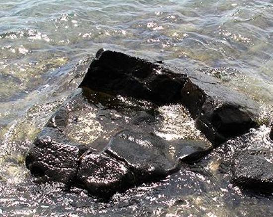 Hauola Stone : The Birthing Stone is easy to find in this park by the harbor in Lahaina Town.