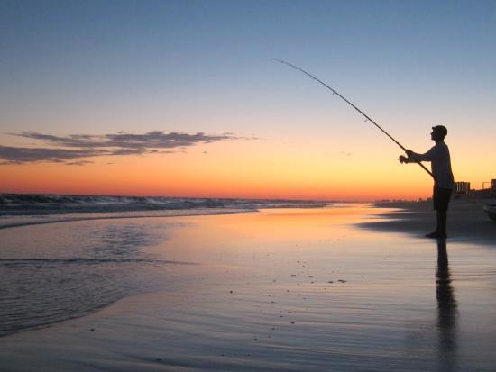 Hilton Sandestin Beach Golf Resort Spa Fishing At Sunset