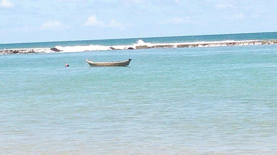 Village Barra Hotel: Um dos tons do mar das Alagoas