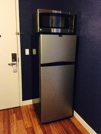 Apartment size fridge & microwave - Picture of University Plaza ...