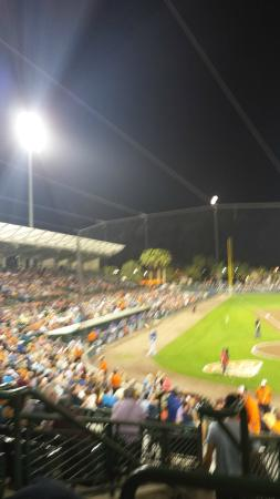 Ed Smith Stadium: Field