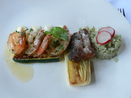 Fireside Grill: Seafood dish