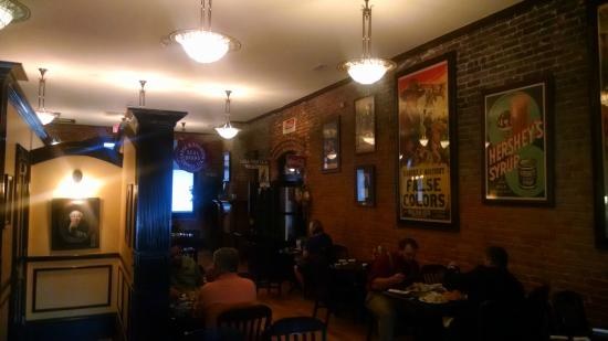 Huggin' Molly's : Dining Room is the old store next to the restored drug store.  It was also perfectly restored.