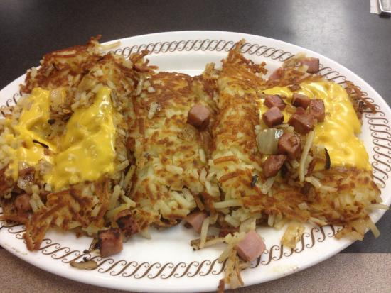 Waffle house all the way hash browns recipe besto blog for Waffle house classic jukebox favorites