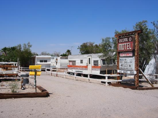 Ocotillo, Californien: Motel Entrance