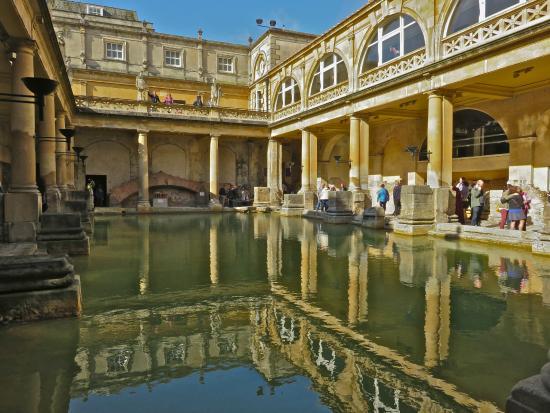 Outdoor View Of Bath House Picture Of The Roman Baths Bath TripAdvisor