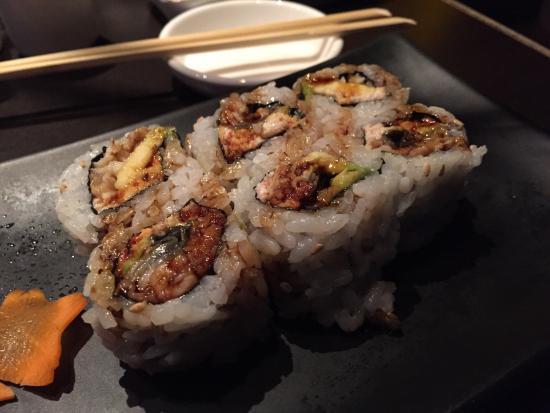 Otoro Sushi: Krabby roll (eel, avocado, crab)