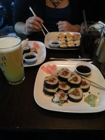 Marietta, PA: The Best sushi - every Friday night!