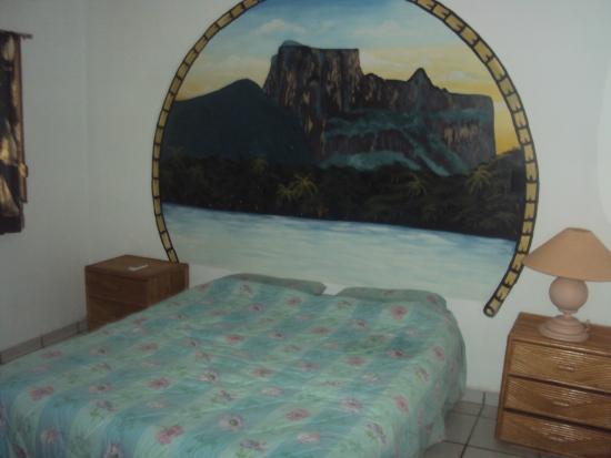 Villa Cabo Blanco : habitación