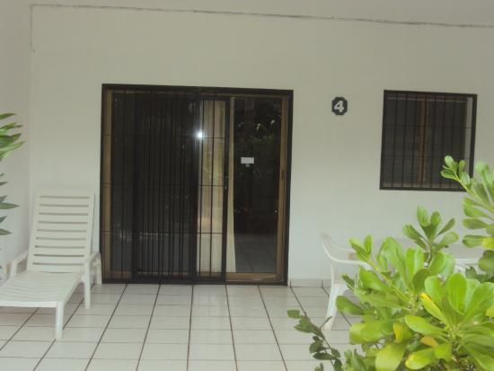 Villa Cabo Blanco: Entrada a la Villa