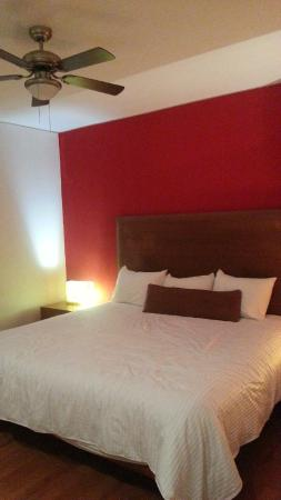 Hotel Suites Mexico Plaza: Roomy, Quiet and very clean