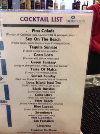 db Seabank Resort + Spa: Cocktails ����