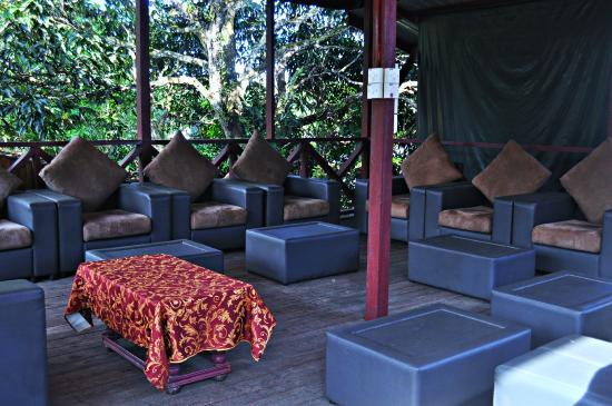 Sukau Greenview Bed & Breakfast: Rest Area