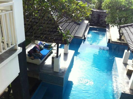 Villa Andaman : 二樓往下照