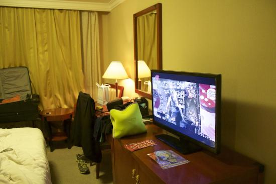 TV, chinese channels!! - Picture of Charms Hotel, Shanghai