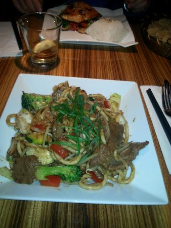 Ginger Asian Flavours : Tokio Beef noodles