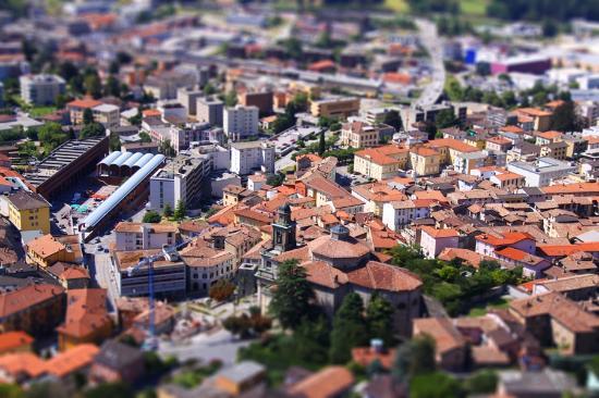 Mendrisiotto, สวิตเซอร์แลนด์: Vista di Mendrisio