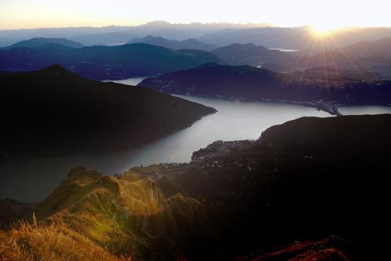 Mendrisiotto, สวิตเซอร์แลนด์: Vista dal Monte Generoso