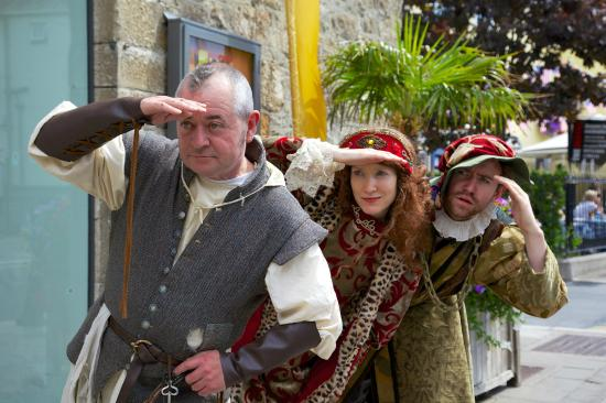 Dalkey Castle and Heritage Centre: Dalkey Castle Residents keep a Lookout