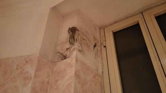 Hotel San Giusto: Bagno impresentabile....