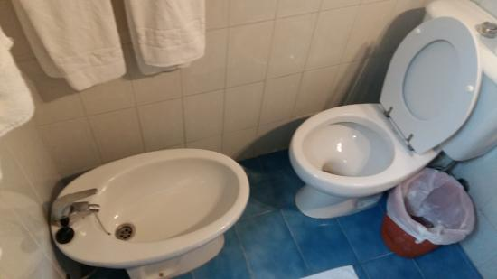 Aparthotel Veramar Malaga: Cramped in the bathroom