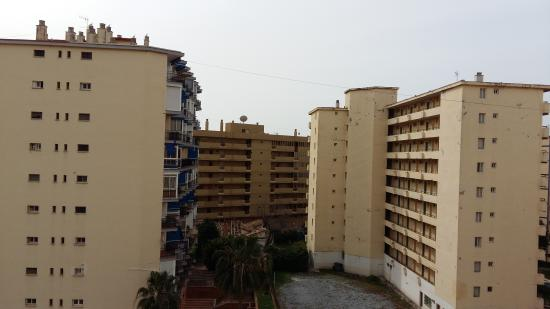 Aparthotel Veramar Malaga: View from balcony