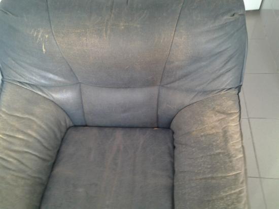 El Velero Apartments: fauteuil et canapé -lit