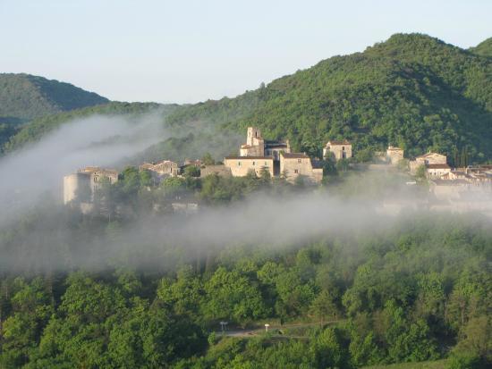 Saint-Thome, France : Vue sur Saint-Thomé