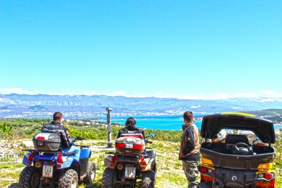 Quad Croatia: Quad & ATV Touren  Kroatien Malinska 6