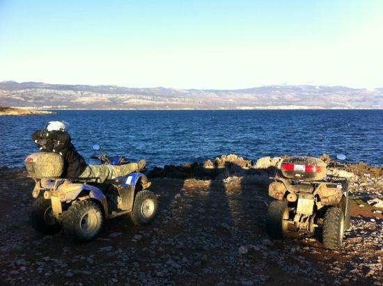 Quad Croatia: Quad & ATV Touren  Kroatien Malinska 8