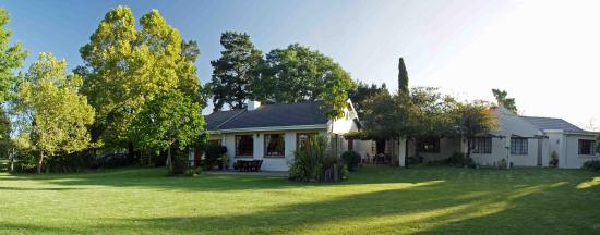 Tantivvey Country Guest House: Evening light