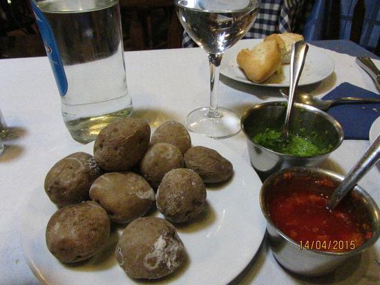 Restaurante El Carmen : papas