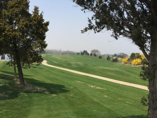 Jinshi Golf Club: 1番ホール