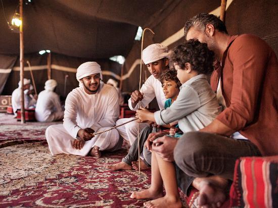 Family gathering in Dubai