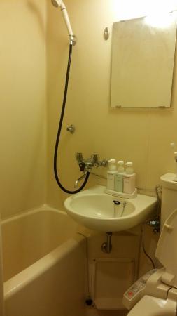 Hotel New Star Ikebukuro: ห้องน้ำ