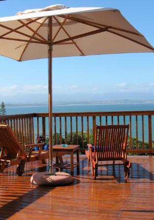 Aquamarine Guest House: Honeymoon Suite balcony view