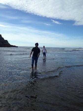 New Plymouth, Nueva Zelanda: Back Beach