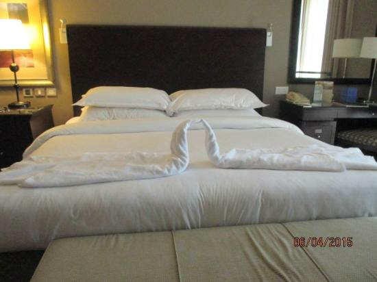 Sheraton Khalidiya Hotel: lit