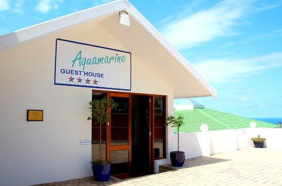 Aquamarine Guest House: Main Entrance