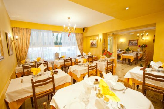 Hotel Restaurant Saint Vincent: restaurant