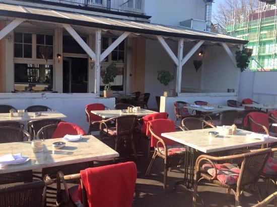 Gambero d'oro: Neue Terrasse