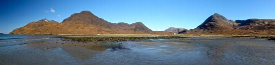 Elgol, UK: Pano of the bay