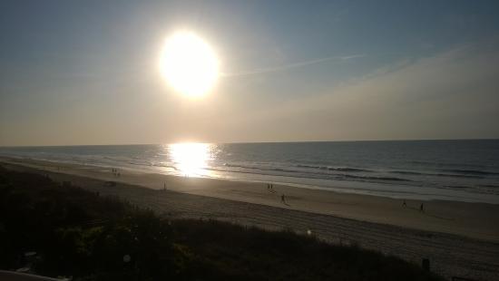 beautiful sunrise from unit 305