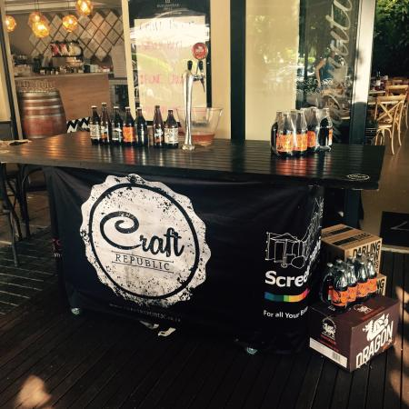 La Piazza: Craft beer on tap