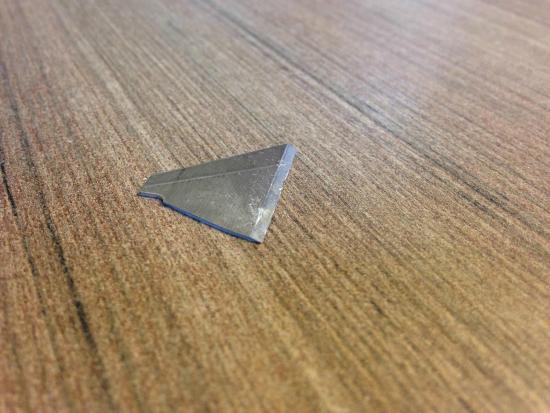 BEST WESTERN Maple City Inn : Found THIS razor near my infant son's toys on the floor.